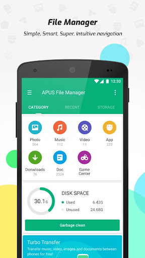 APUS File Manager (Explorer) screenshot 2