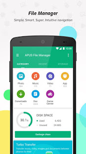 App APUS File Manager (Explorer) APK for Windows Phone