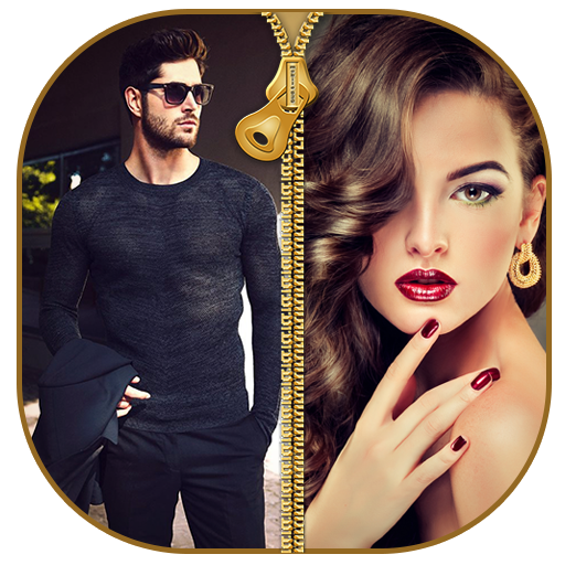 Couple Zipper Lock Screen Android APK Download Free By A Square Star