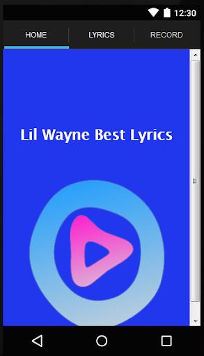 Lil Wayne Songs Lyrics