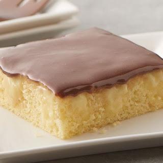 Boston Cream Pie Poke Sheet Cake Recipe