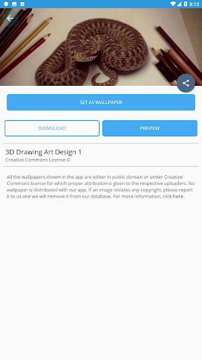 3D Drawing Art Design 3.1 screenshots 2