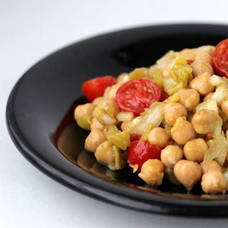 Spicy Garbanzo Salad