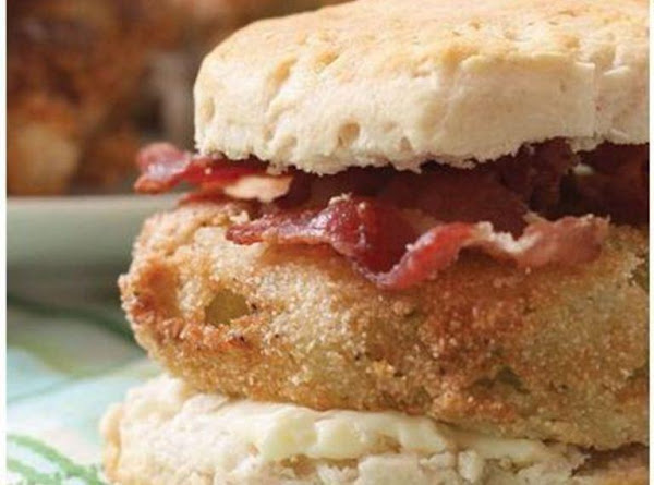 Fried Green Tomato Biscuits Recipe