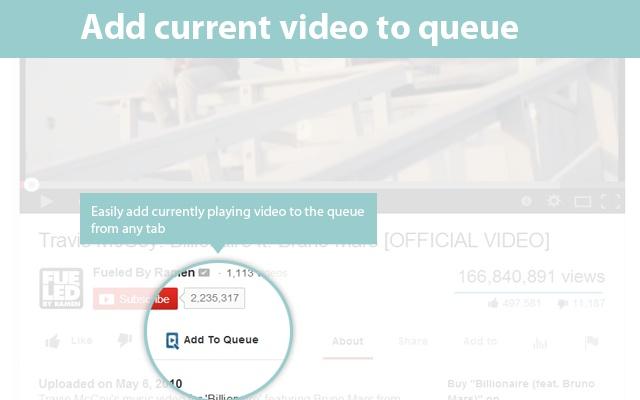 qTube - Queue Youtube™ Videos