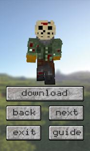 Horror Friday Th Skins For MCPE Apps No Google Play - Skin para minecraft pe de terror
