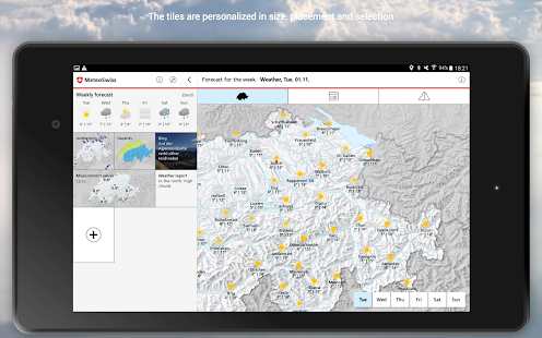 MeteoSwiss- screenshot thumbnail