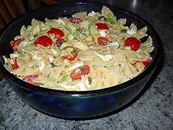 Fresh Lemony Pasta Salad