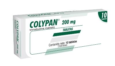 Trimebutina Maleato Colypan 200 mg x 10 Tabletas