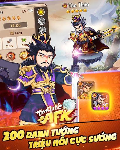 Tam Quốc AFK - Idle 3Q APK MOD screenshots 2