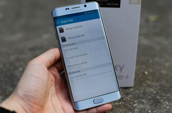 Samsung Galaxy S6 Edge+ Dual SIM giá rẻ tại digiphone