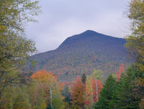 Photo: An impressive looking Mount Weeks.