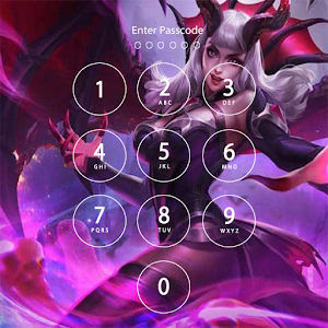 Free Mobile Legend Hero Lock Screen for PC