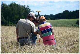 Photo: при обучении работе с дифференцированной системой спутникового позиционирования