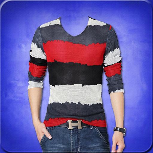 Man T-Shirt Photo Suit Editor