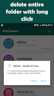 WaCleaner (for WhatsApp) - náhled