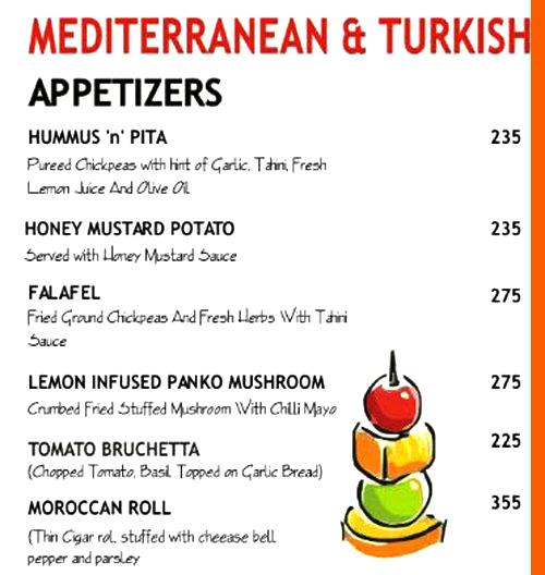 Masha menu 2