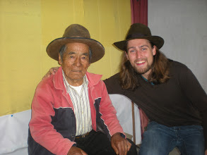 Photo: Me in my new hat with our 87 year old abuelito.