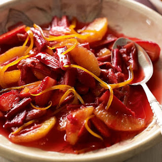 Rhubarb And Orange Compote