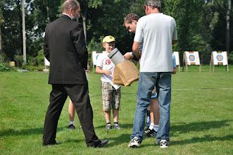 """Photo: Laureaci w kategorii wiekowej """"dzieci starsze"""". Mistrzostwa Małopolski Dzieci i Młodzików 2011 (Dobczyce, 16.08.2011)"""
