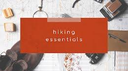Hiking Essentials - YouTube Thumbnail item