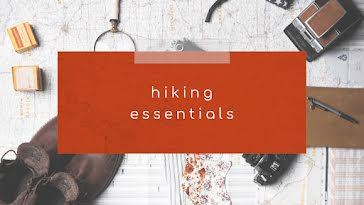 Hiking Essentials - YouTube Thumbnail Template
