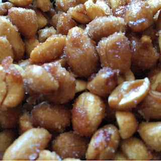 Caramelize Nuts.