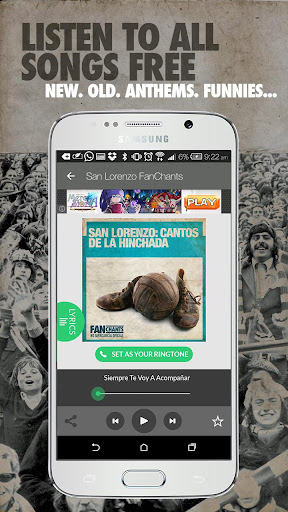 San Lorenzo FanChants Free