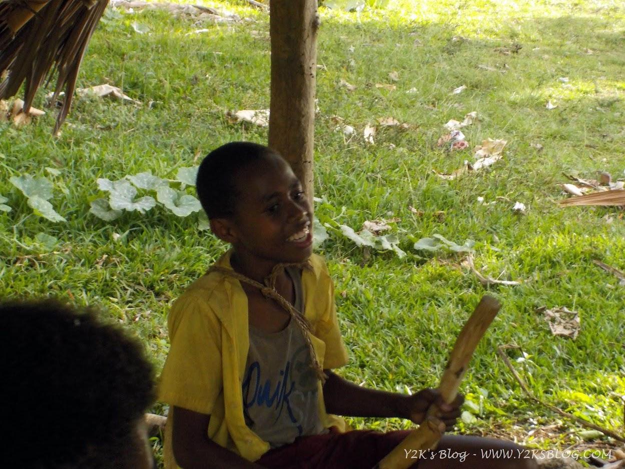 I suonatori di tamburi di Loltong - Pentecoste