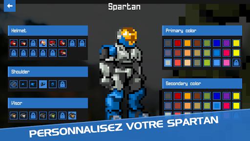 Code Triche Spartan Firefight APK MOD screenshots 5