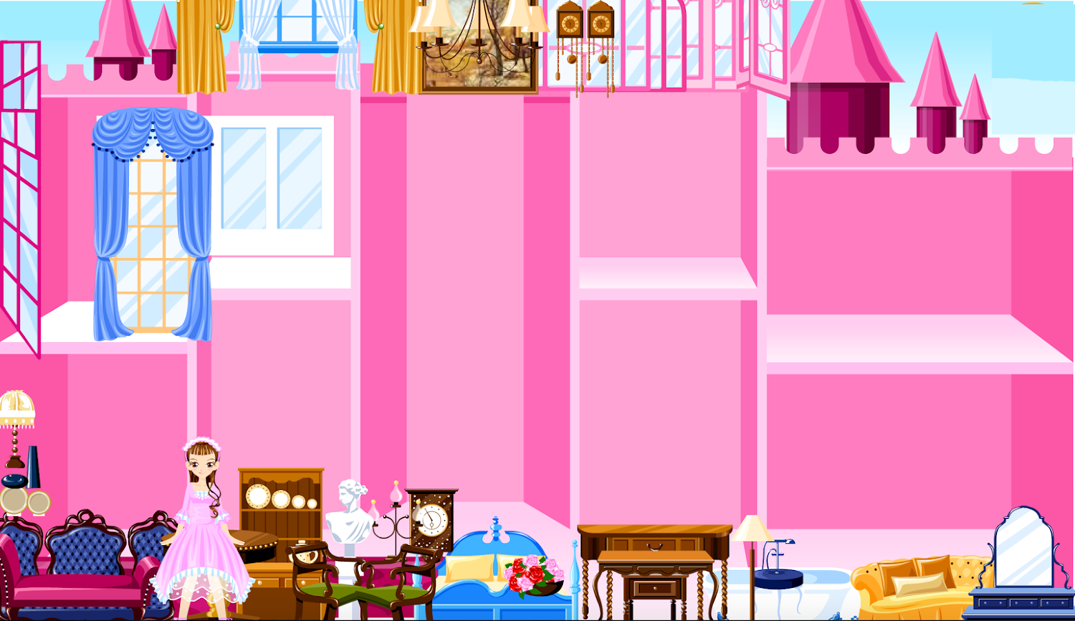 Princess Castle Decoration Android Apps On Google Play