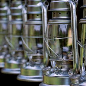Lanterns by Sandeep Kochar - Abstract Fine Art