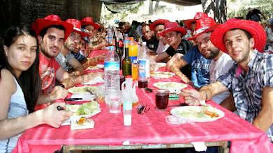 Photo: Tot i ser també dia d'eleccions, membres de totes les candidatures varen compartir el dinar.