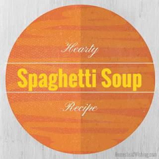Spaghetti Soup.