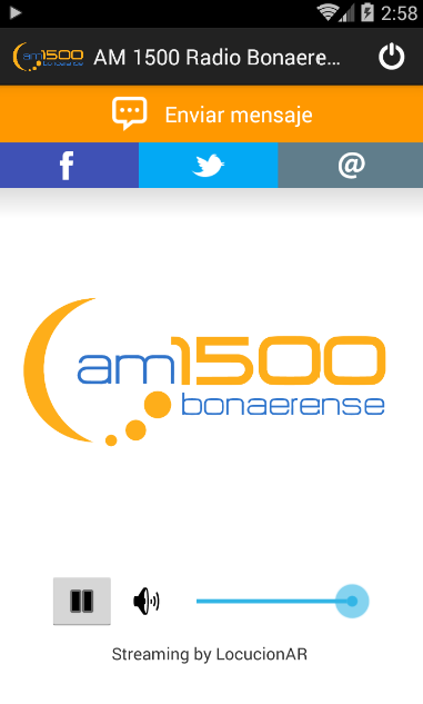 AM 1500 Radio Bonaerense- screenshot