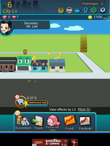 City Growing-Touch in the City( Clicker Games ) screenshot 18