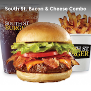 South St. Bacon & Cheese Burger Combo