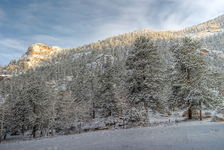 Photo: A cold winters morning