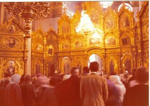 Photo: Kirkkokansaa Odessassa 30.5.1976