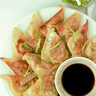 Pork Cabbage Potsticker Wonton Dumplings (Steamed or Fried)
