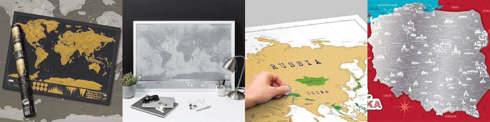 Mapy zdrapki