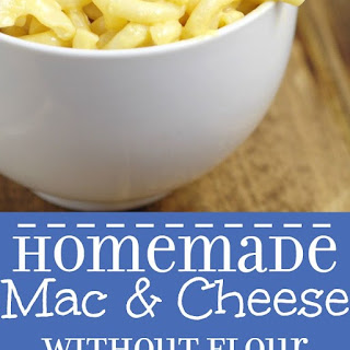 Mac and Cheese without Flour