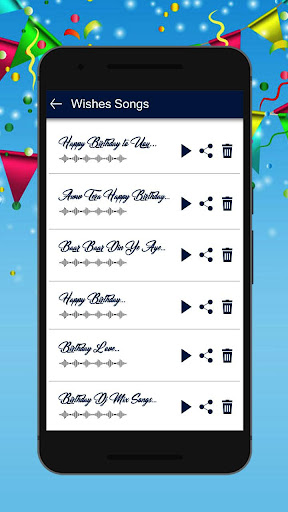 Birthday Song With Name & frame, quotes, songs screenshots 2