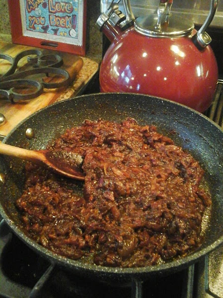 Garrison's Bacon And Onion Relish (for Burgers) Recipe