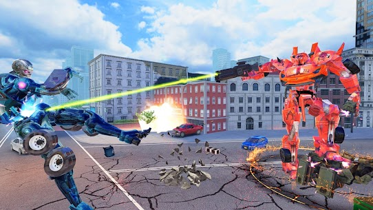 Robot Games : Ultimate Robot Car Transform Games 2