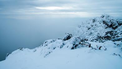 Photo: Předvýchodový vrchol Velkého Choče
