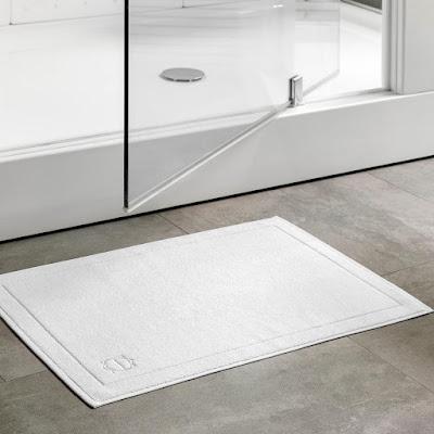 Коврик для ванной Togas Рапсодия белый 70х120 см