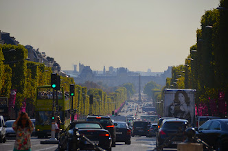Photo: Av. des Champs Elysées, Paris