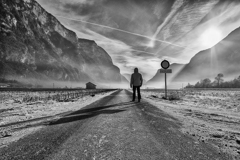 Cammino verso l'infinito di Schivio