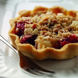 Jo Pratt'S Bramley Apple, Raspberry and Almond Crumble Tarts Recipe